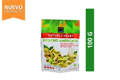 Pistacho Americano Nature's Heart Bolsa Con 100 g