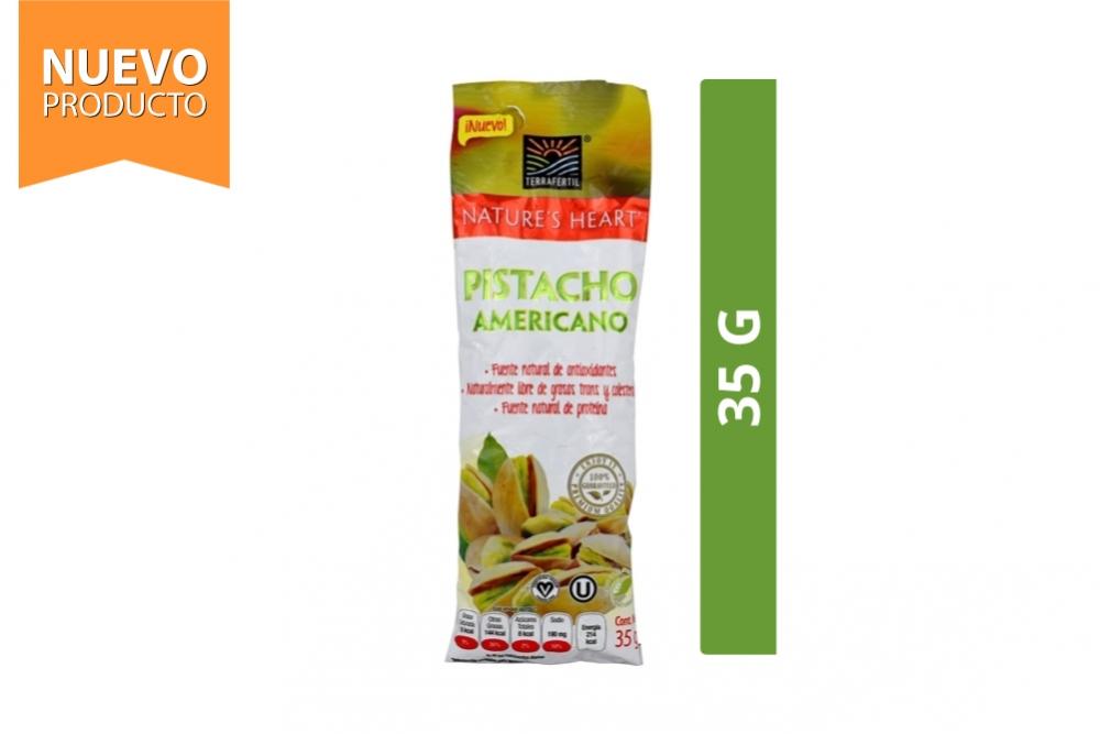 Pistacho Americano Nature's Heart Bolsa Con 35 g
