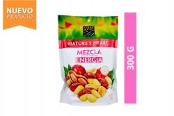 Mezcla Energía Maní, Maíz y Arándano Nature's Heart Empaque Con 300 g