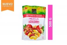 Mezcla Energía Maní, Maíz y Arándano Nature's Heart Empaque Con 500 g