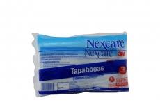 Tapabocas Elástico Desechable Bolsa Con 12 Unidad