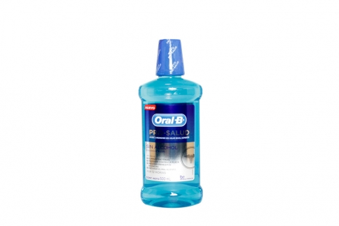 Enjuague Bucal Pro-Salud Oral B Frasco Con 500 mL