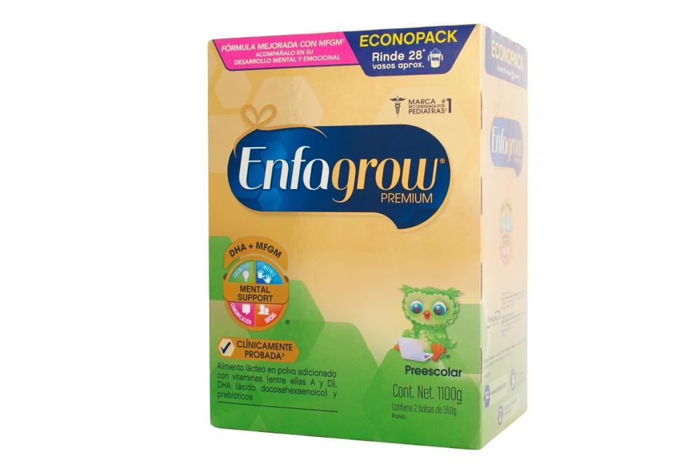 Enfagrow Premium Preescolar Caja Con 2 Bolsas Con 550 g C/U