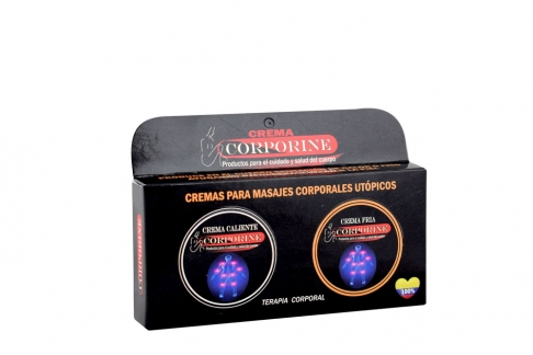 Corporine Crema Frío y Caliente Caja Con 2 Unidades