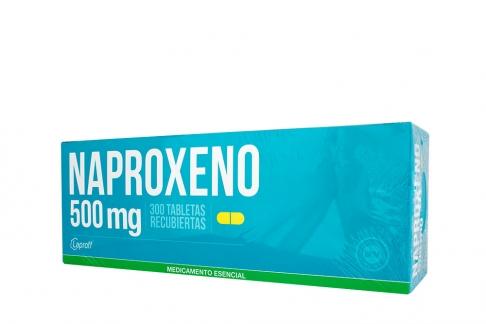 Naproxeno 500 mg Caja Con 300 Tabletas Rx