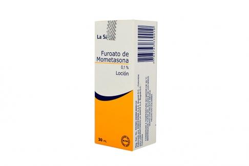 Furoato De Mometasona 0.1 % Loción Caja Con Frasco Con 30 mL Rx