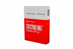 Dicynone 250 mg Caja Con 4 Ampollas Rx