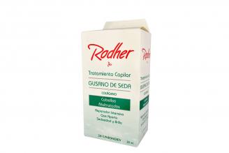 Tratamiento Capilar Rodher Gusano De Seda Caja Con 24 Sobres Con 30 mL C/U
