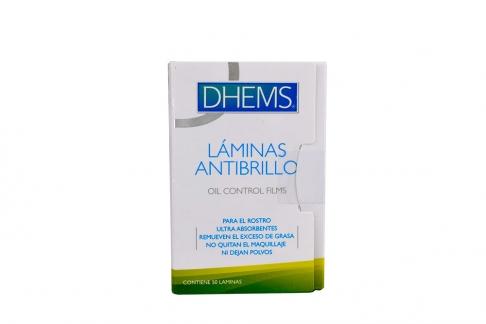 Dhems Láminas Antibrillo Caja Con 50 Unidades