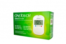 Glucómetro One Touch Select Simple Johnson - Medical Caja Con 1 Unidad