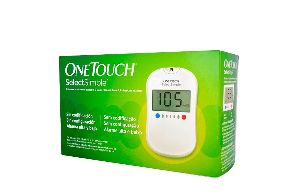 Glucómetro One Touch Select Simple Johnson - Medical Caja Con 1 Unidad