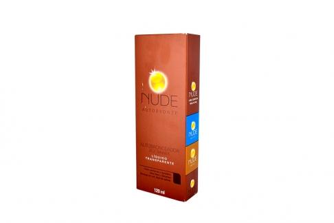 Autobronceador Nude Bronze Liquido X120 Ml