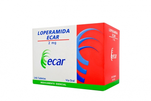 Loperamida 2 mg Caja Con 240 Tabletas Rx