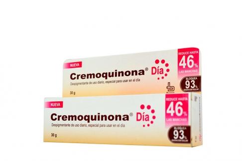 Cremoquinona Día 46 % Caja Con Tubo Con 30 g