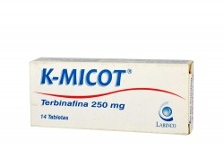 K-Micot 250 mg Caja Con 14 Tabletas Rx
