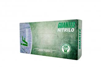 Guante Nitrilo Talla M 7 1/2 Caja Con 100 Pares - Color Blanco