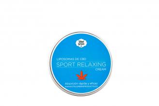 Sport Relaxing Crema Vital Green Frasco Con 60 g