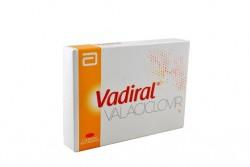 Vadiral 1 g Caja Con 5 Tabletas Recubiertas Con Pelicula Rx4