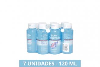 Agua Oxigenada JGB Empaque Con 7 Frascos Con 120 mL