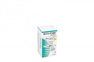 Accu – Chek Active Caja Con 50 Tiras Reactivas