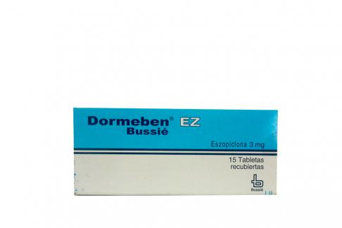 Dormeben EZ 3 mg Caja Con 15 Tabletas Recubiertas Rx