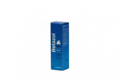 Betazol Espuma Caja Con Frasco Con 50 mL Rx