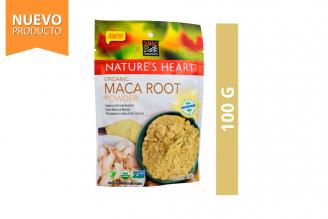 Harina De Maca Orgánica Nature's Heart Bolsa Con 100 g