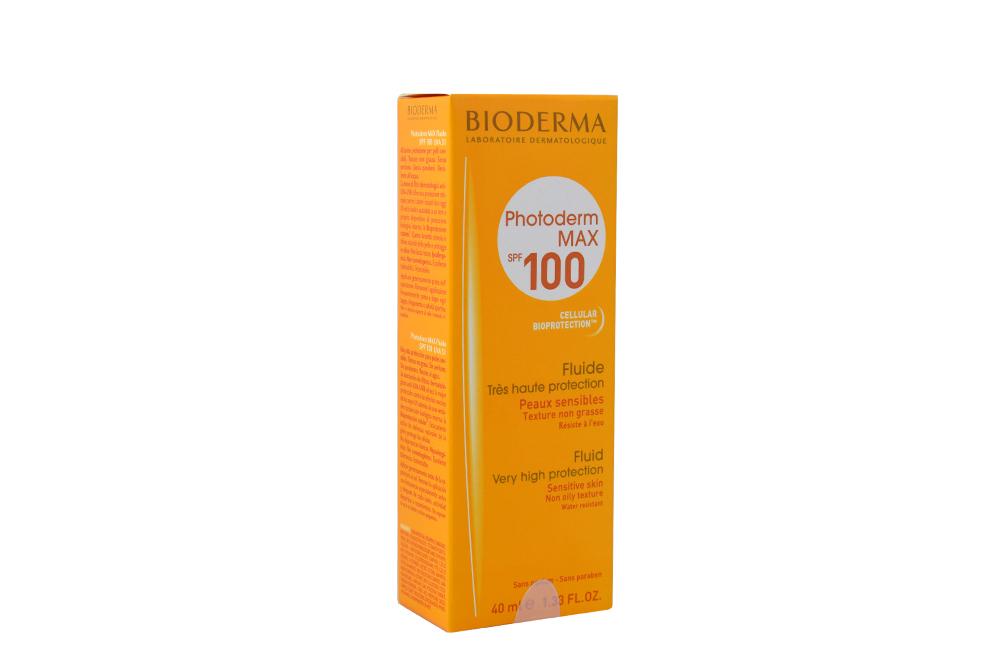 Protector Solar Bioderma Photoderm MAX SPF 100 Caja Con Frasco Con 40 mL