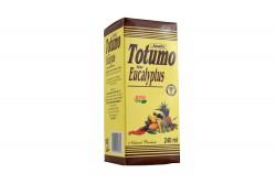 Jarabe Totumo Frasco Con 240 mL Sabor Eucalyptus