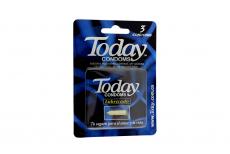 Condones Today Lubricado Empaque Con 3 Unidades