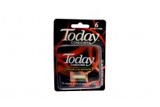 Condones Today Espermicida Caja X 6 Unidades