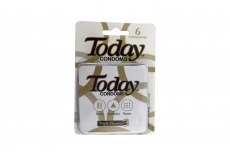 Condones Today Triple Pleasure Empaque Con 6 Unidades