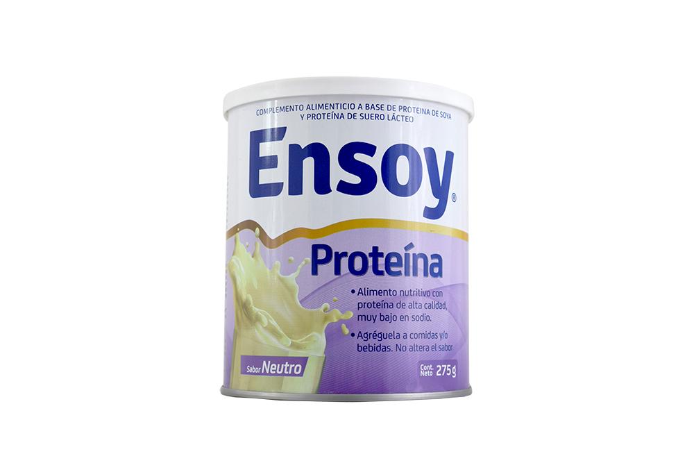 Ensoy Proteína Sabor Neutro Tarro Con 275 g