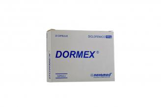 Dormex 100 mg Caja x 20 Cápsulas Rx