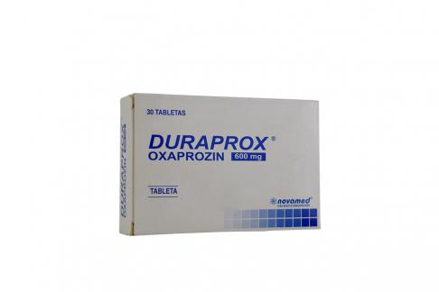 Duraprox 600 mg Caja Con 30 Tabletas Rx