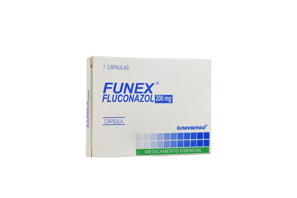 Funex 200 mg Caja X 7 Cápsulas Rx