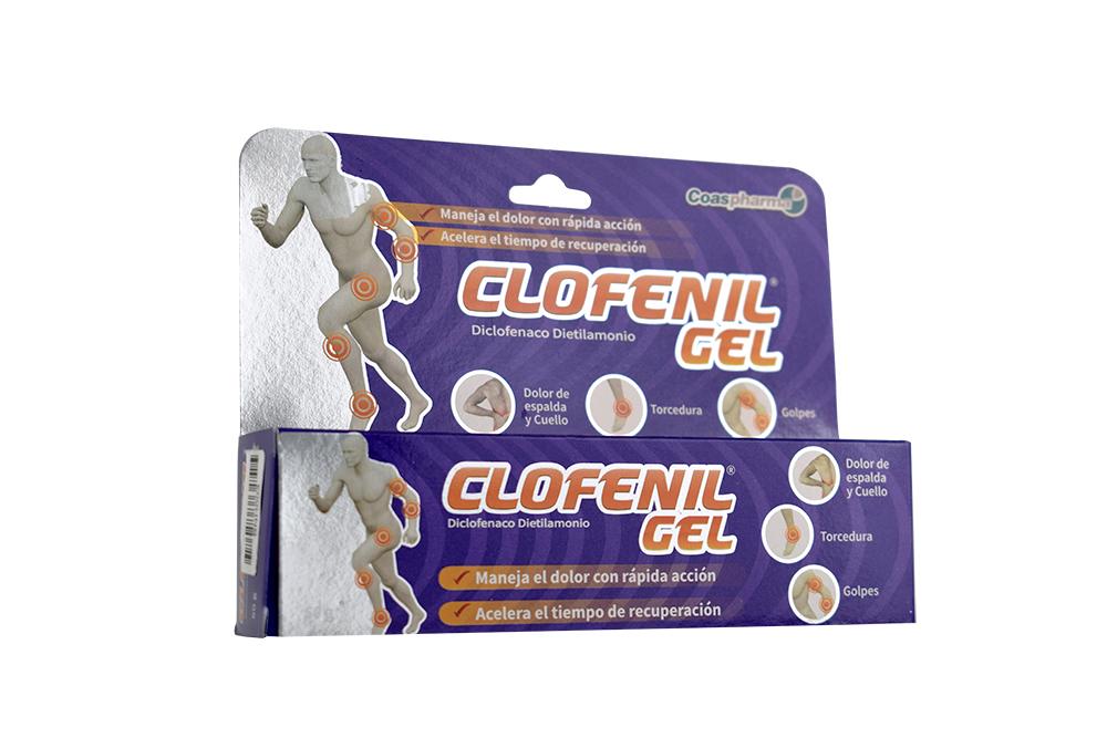Clofenil 1% Gel Caja Con Tubo Con 50 g