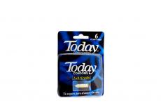 Today Lubricado Caja Con 6 Condones