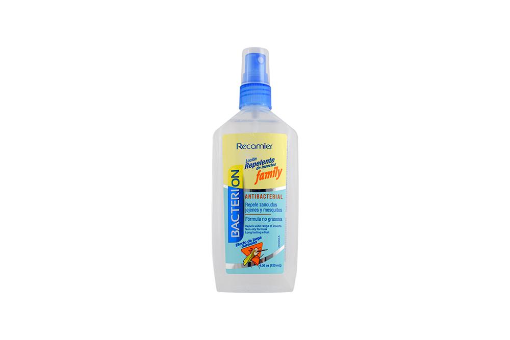 Repelente Bacterion Family Spray Con 120 mL
