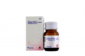 Alactin 0.5 mg Caja Con Frasco Con 4 Tabletas Rx4