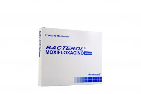 Bacterol 400 mg Caja Con 5 Tabletas Recubiertas Rx2