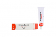 Betametasona crema 0.05 % Caja Con Tubo Con 40 g Rx
