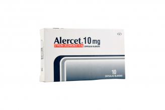Alercet 10 mg Caja Con 10 Cápsulas Blandas Rx