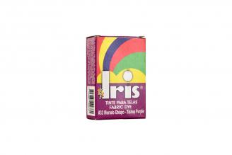 Iris Tinte Para Telas Caja Con Bolsa Con 9 g – Tono Número 33 Morado Obispo