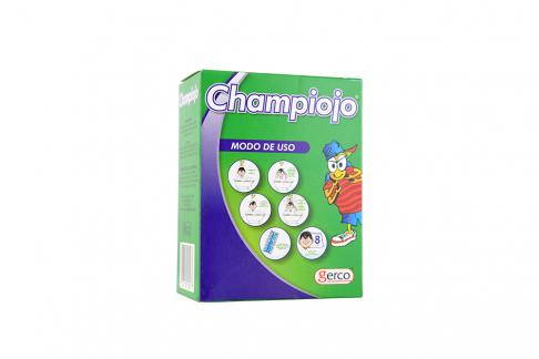 Shampoo Champiojo Caja Con Frasco Con 60 mL