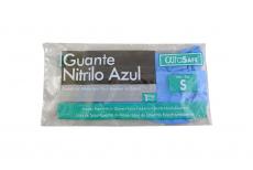 Guante Nitrilo Azul AlfaSafe Talla S Bolsa Con 1 Par