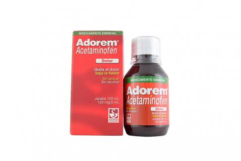 Adorem 150 mg Jarabe Caja Con Frasco Con 120 mL