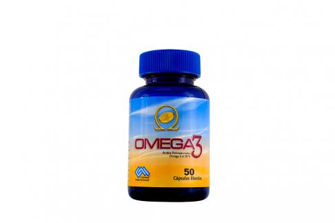 Omega 3 Al 30% Frasco Con 50 Cápsulas Blandas