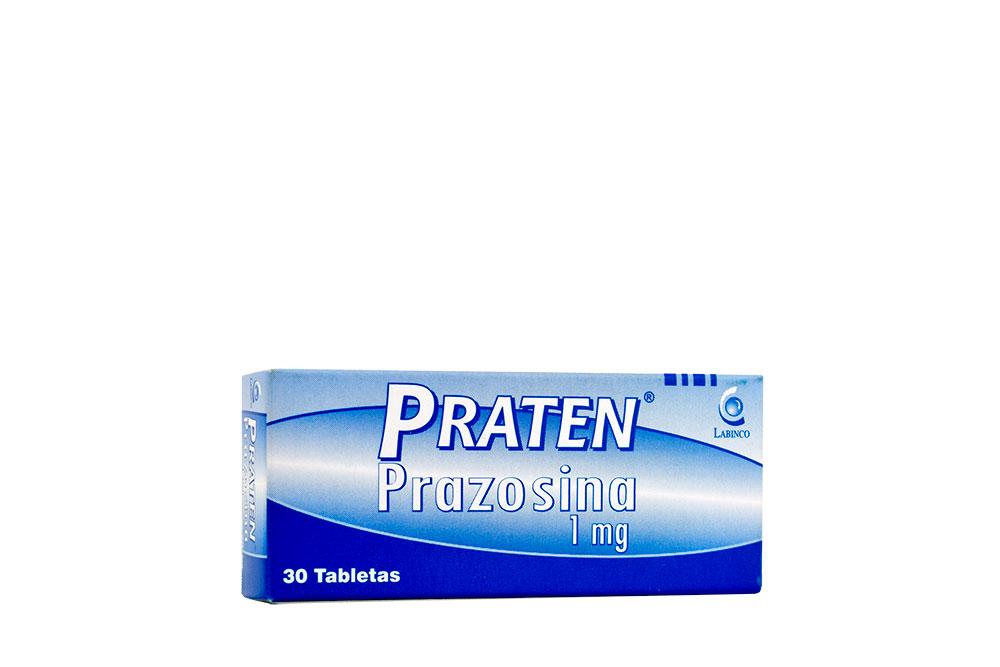 Praten 1 mg Caja Con 30 Tabletas Rx