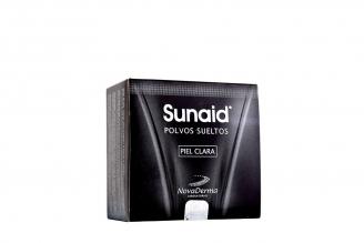 Sunaid Polvos Sueltos Caja Con Estuche Con 35 g - Piel Clara